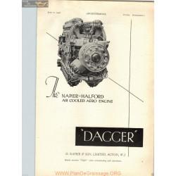 Napier Halford Dagger Engine 1936