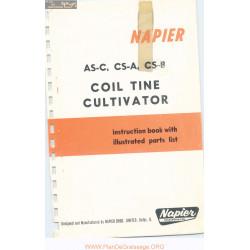 Napier Models Asc Csa Csb Coil Tine Cultivator Parts List
