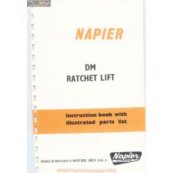 Napier Napier Dm Ratchet Lift Parts List