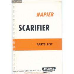 Napier Scarifier Parts List