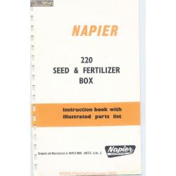 Napier Seed And Fertilizer Box Model 220 Parts List