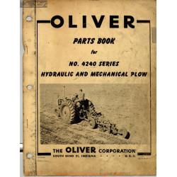 Oliver 4240 Hydraulic Machannical Plow 2eme Edition