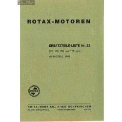 Rotax Motoren 125 150 165 185 Mamual 1963