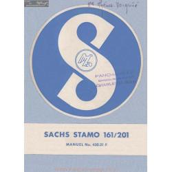 Sachs 161 201 Stamo Maunel 430 21 F