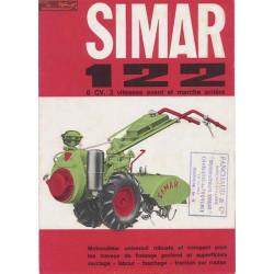 Simar 122 Motoculteur 6cv 3vitesse Fiche Technique