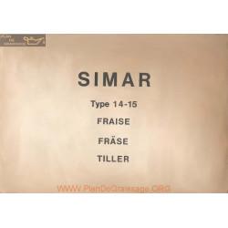 Simar 14 15 Fraise Manuel