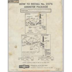 Starline Model 70 Silo Unloader Install Number 25176 Ammeter Package