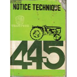 Utb 445 Universal Notice Technique