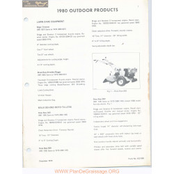 White 802 Outdoor Products 1980