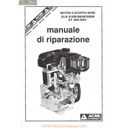Acme Aln 215 290 330 Manuel De Reparation