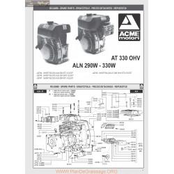 Acme Aln 290 330 At 330 Pieces Rechange