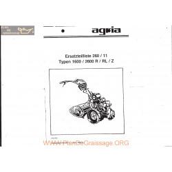 Agria 1600 2600 R Rl Z Eclates 260 11