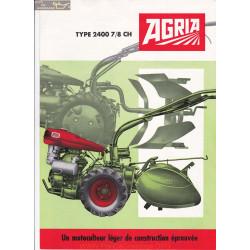 Agria 3400 7ch 8ch Brochure Motoculteur