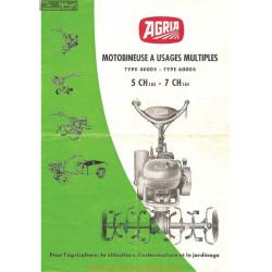 Agria 4000 Et 6000 5ch 7ch Brochures Motobineuse