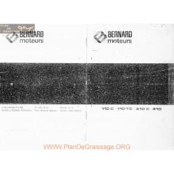 Bernard 110c 110tc 610c 810 Fiche Technique