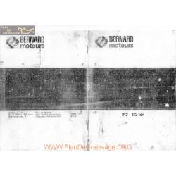 Bernard 112 112ter Fiche Technique