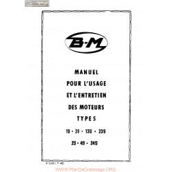 Bernard 19 39 139 239 29 49 249 Manuel Entretien Moteur