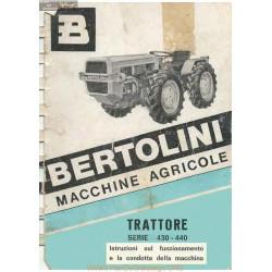 Bertolini 430 440 Fiche Information