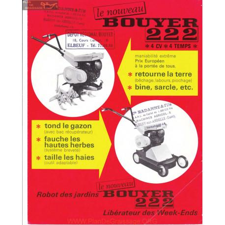 Bouyer 222 Fiche Information