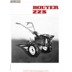 Bouyer 223 50 Pub Manuel Entretien