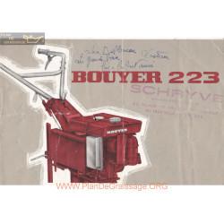 Bouyer 223 Fiche Information