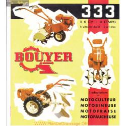 Bouyer 333 Fiche Information