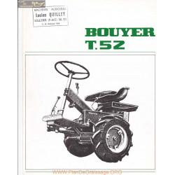 Bouyer T52 Fiche Information