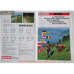 Bucher M300 Fiche Information