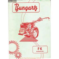 Bungartz Fk Manuel Entretien