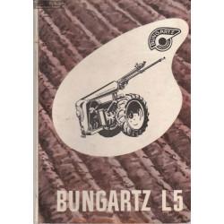 Bungartz L5 Manuel Entretien