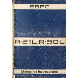 Ebro A21l A30l Manuel Entretien