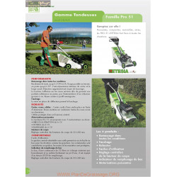 Etesia Pro51 Fiche Information