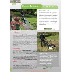 Etesia Pro53 Fiche Information