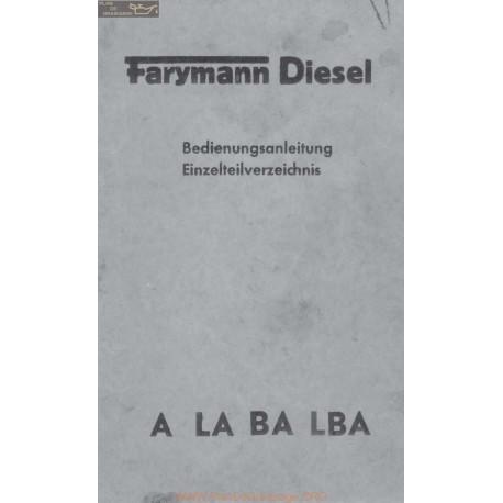 Farymann Diesel Piece Rechange