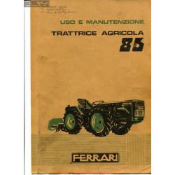 Ferrari 86 Italien Manuel Utilisateur