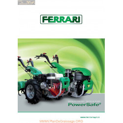 Ferrari Powersafe 2012 Fiche Information