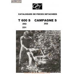 Gabyt 600s Campagnes Piece Rechange