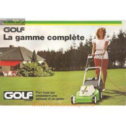 Golf Fiche Information