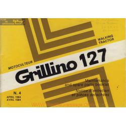 Grillino 127 Manuel Entretien