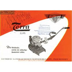Gutbrod Terra 2 5 Ps 1957 Fiche Information