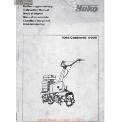 Hako Combinette 3606 Manuel Entretien