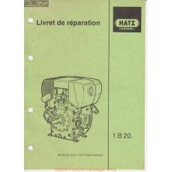 Hatz 1b20 Livret De Reparation