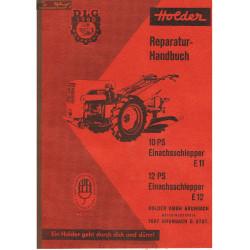 Holder E11 E12 Reperaturanleitung