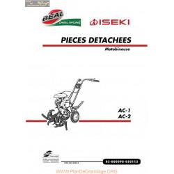 Iseki Ac1 Ac2 Piece Rechange