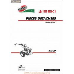 Iseki Kt500 Piece Rechange