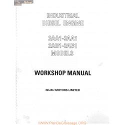 Isuzu 2aa1 To 3ab1 Workshop
