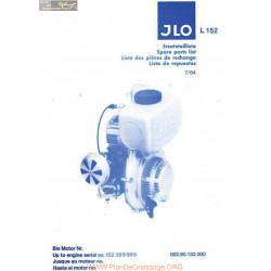 Jlo L152 Rechanges Piece Rechange