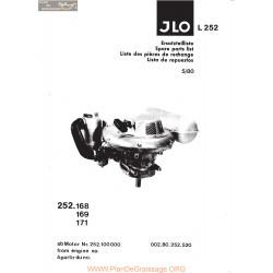Jlo L252 Pieces Piece Rechange