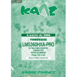 Kaaz Lm5360hxa Pro Gxv160 H2 2006 Piece Rechange