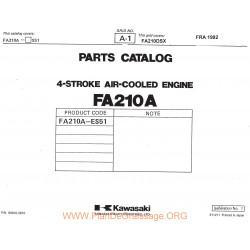Kawasaki Fa210a Piece Rechange